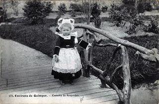 Quimper - Costume de Rosporden