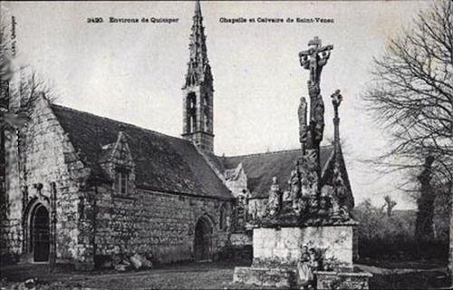 Quimper - Chapelle et Calvaire de St-Venec