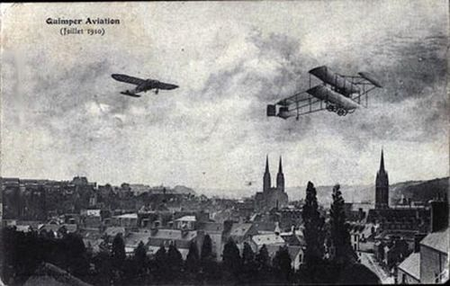 Quimper - Aviation (Juillet 1910)