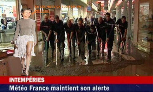 Orage en Vendée maud inondée