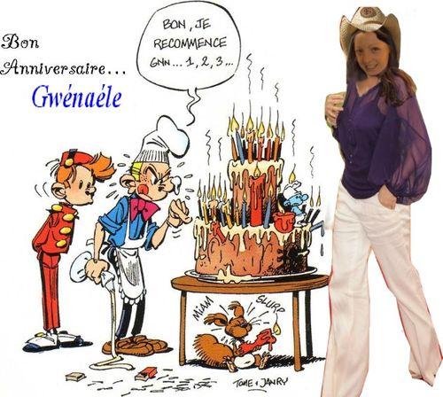 Bon anniversaire Léonine