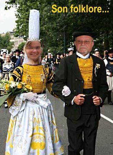 Costume breton Nadine serge