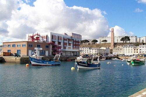 Le port de commerce de Brest est une grande plate-forme de trafic maritime. L'activité de pêche y