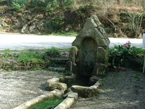 Fontaine Saint-Divy à Telgruc-sur-Mer