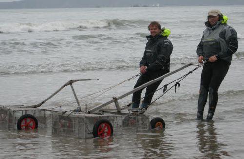 Trez-Bellec. Les pêcheurs de tellines sont de retour