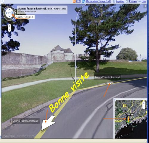 Visite google Brest