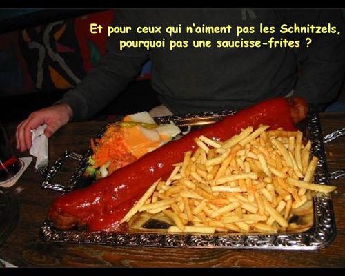 Saucisse- frites