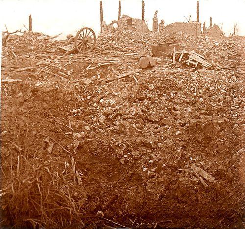 Ruines - cne de Maurepas