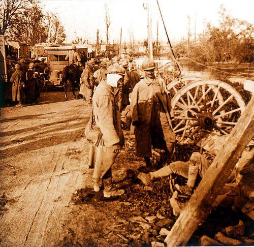 Convoi de blesses - Somme 25 septembre 1918