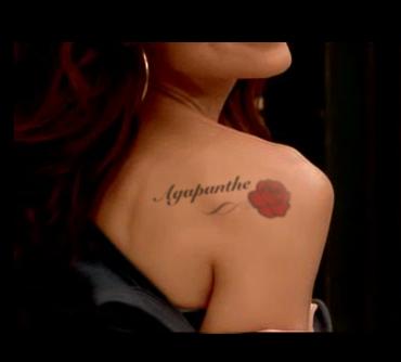 Tatouage  Agapanthe 1