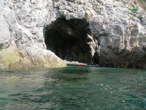 La grotte de l'Autel
