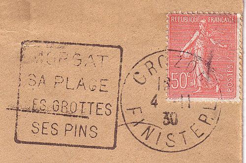 Oblitération du 04 novembre 1931 par machine